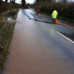 25/11/2012 Concerned residents clearing blocked drains on Halam Road by Ben Huson