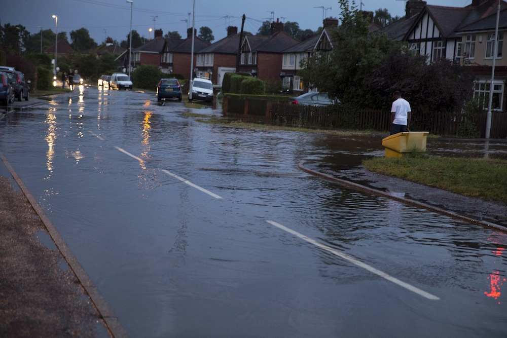 23/07/2013 @ 21:23 Bottom of Leeway Road by Andrew Chadwick