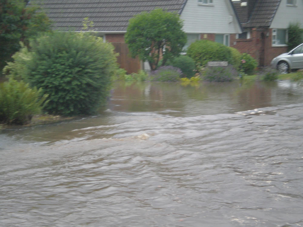 23/07/2013 @ 19:38 Corner of Glenfield Drive by Trish Jordon
