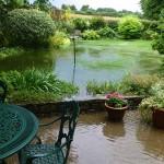 Halloughton Road back garden
