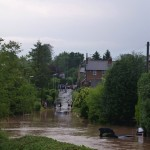 Halloughton Road looking towards Westgate