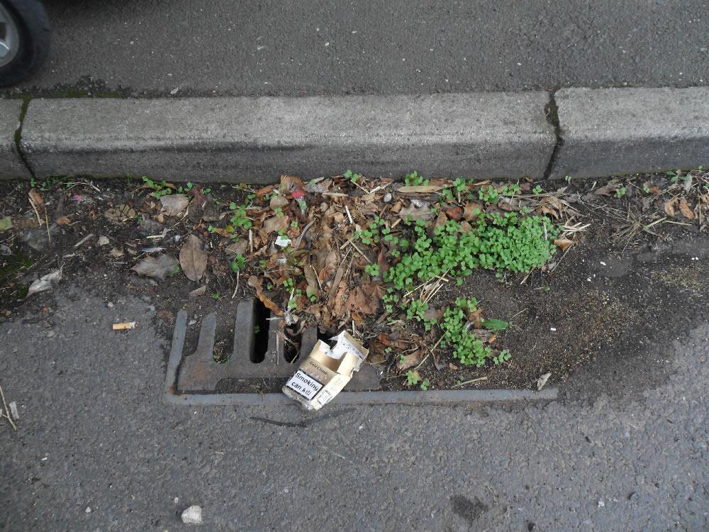 28/08/2013 Block drain by Katy Todd