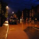 23/07/2013 @ 21:23 Water going down Church Street by Stewart Todd