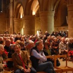 11/09/2013 Hundreds turned up to the meeting at Southwell Minister last night © Nottingham Post
