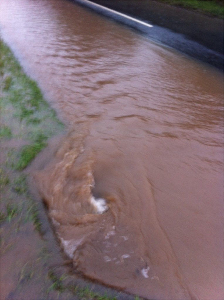 20/12/2012 Halam Road drain I unblocked by Ben Huson