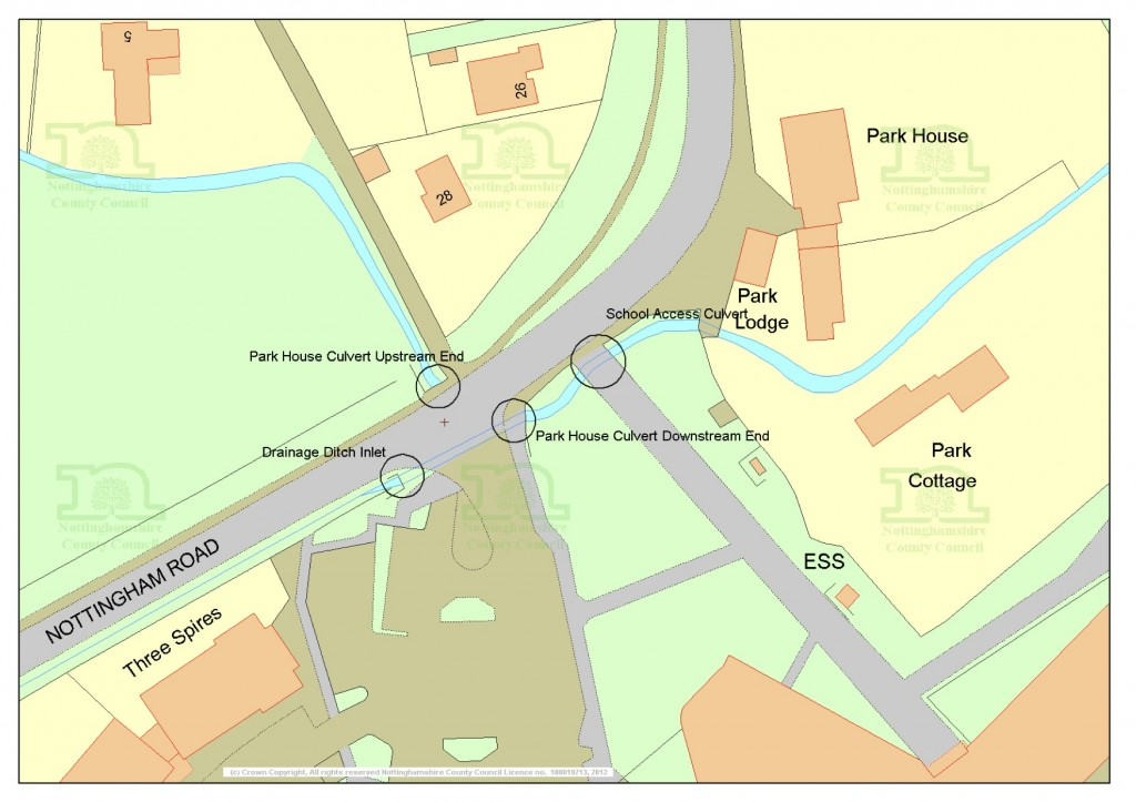 A612 Parkhouse & School Access Culverts