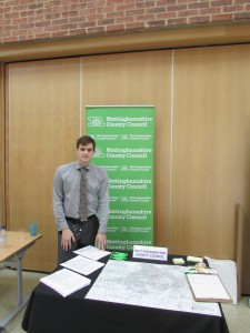Ben - member of the NCC Flood Risk team