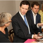 George Osborne meets residents in Southwell to discuss flood defences