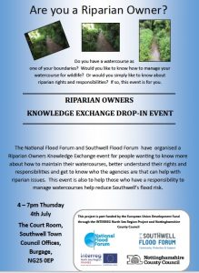 Riparian Owners event 4.7.19