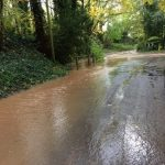 westhorpe towards farm track:leachcroft